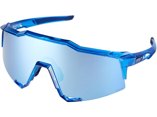 100% Speedcraft HD Multilayer/Hiper Glasses Tall polished transl. crystal blue